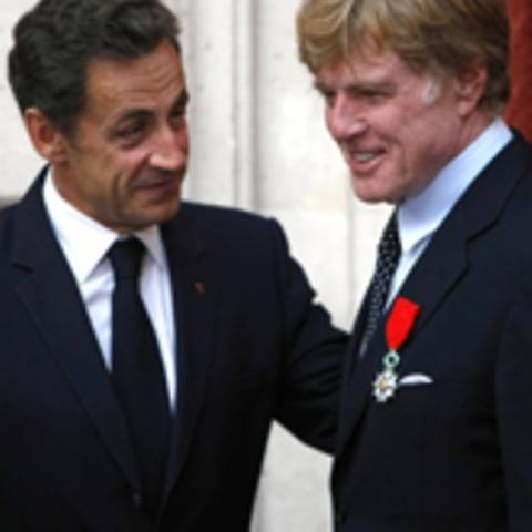Nicolas Sarkozy, robert redford
