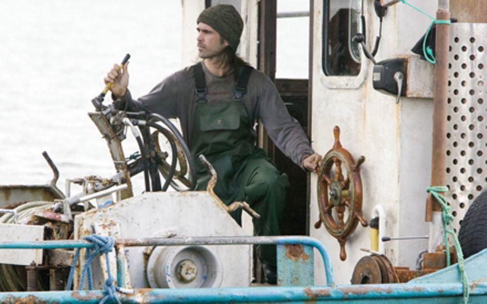 Colin farrell überzeugt als irischer Fischer, der sein Glück eines Tages im Meer findet.