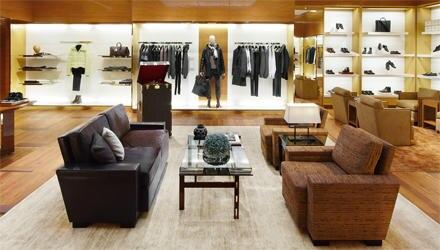 Die Männerabteilung im umgebauten Düsseldorfer Store von Louis Vuitton.