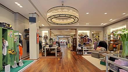 Groß: der neue Gant-Store am Hamburger Neuen Wall.