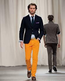 """Die aktuelle """"Gant by Michael Bastian""""-Linie setzt auf den Preppy-Look. Der Designer ließ sich dabei vom Lacrosse-Sport inspirie"""