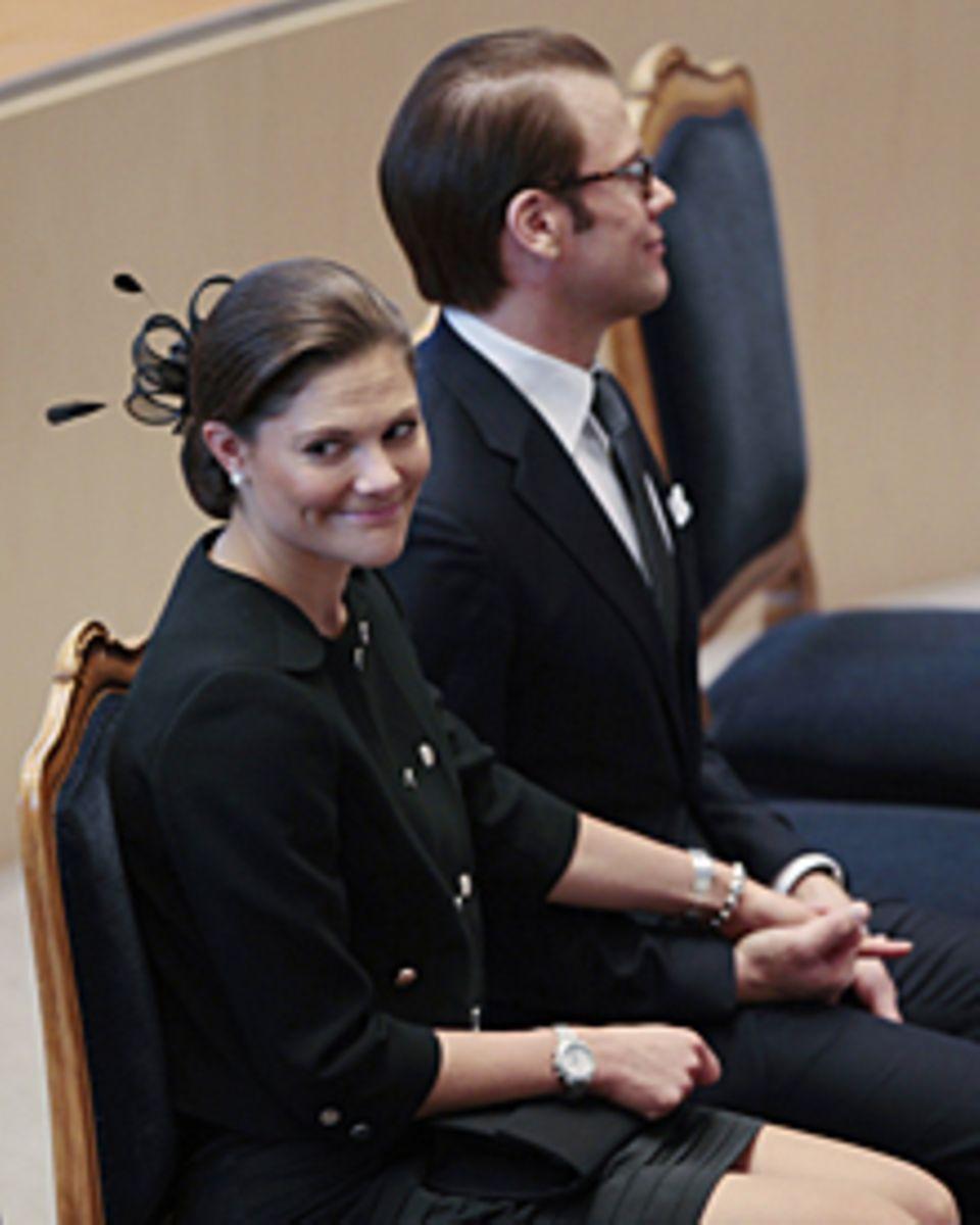 Repräsentativ: Prinzessin Victoria und Prinz Daniel bei der Parlamentseröffnung Anfang Oktober.