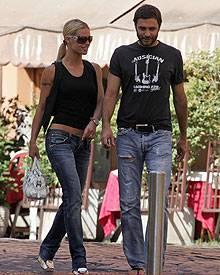 Schon 2007 verstanden sich die beiden gut: Michelle Hunziker und Daniele Pecci bei einem gemeinsamen Ausflug in Rom.