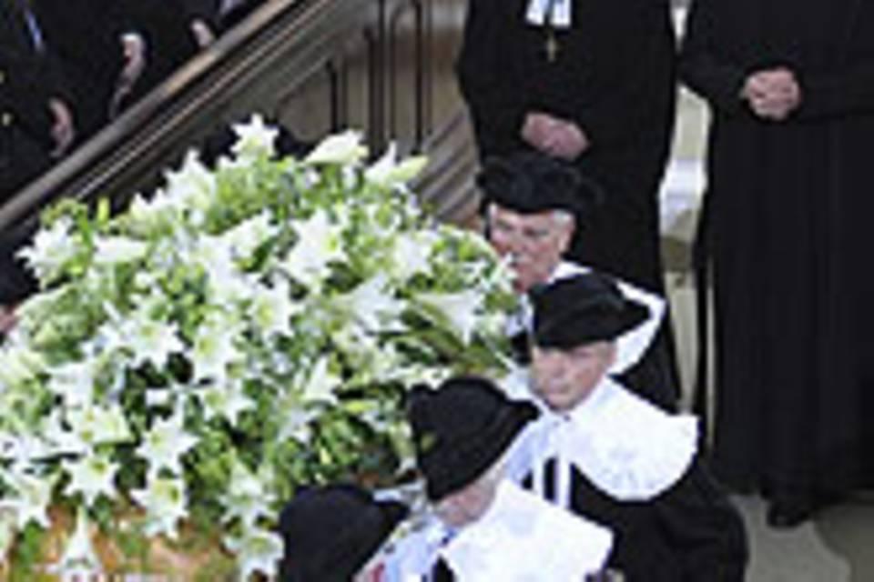 Beerdigung Loki Schmidt