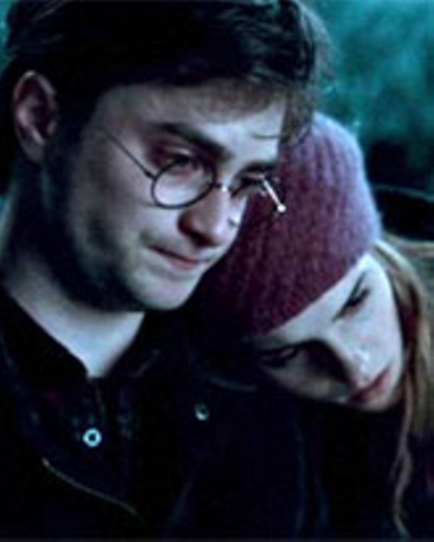 "Daniel Radcliffe und Emma Watson in ""Harry Potter 7 - 1"""