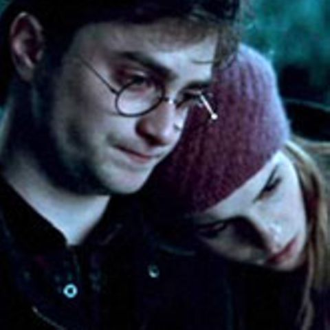 "Daniel Radcliffe und Emma Watson in ""Harry Potter 7 - 1"""