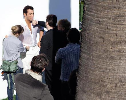 Es gibt deprimierendere Arbeitsplätze: Der neue Werbespot für Bulgari Man wurde in Los Angeles gedreht. Clive Owen mit seinen St