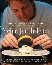 """""""Meine Jacobsleiter. Stufenweise in den kulinarischen Himmel mit dem Küchenchef des Hotel Louis C. Jacob"""", Südwest, 160 S., 24,9"""