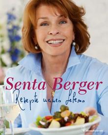 100 persönliche Lieblingsrezepte stellt Senta Berger in ihrem Kochbuch vor - garniert mit Anekdoten aus ihrer Kindheit und aus i