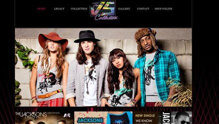 Die Kollektion der Jackson Five erinnert stark an die Mode der Achtziger Jahre.