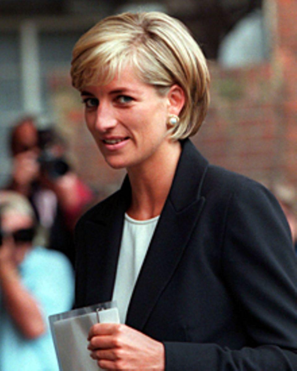 Schweres Erbe: Ob Kate will oder nicht, sie wird mit Lady Di verglichen.