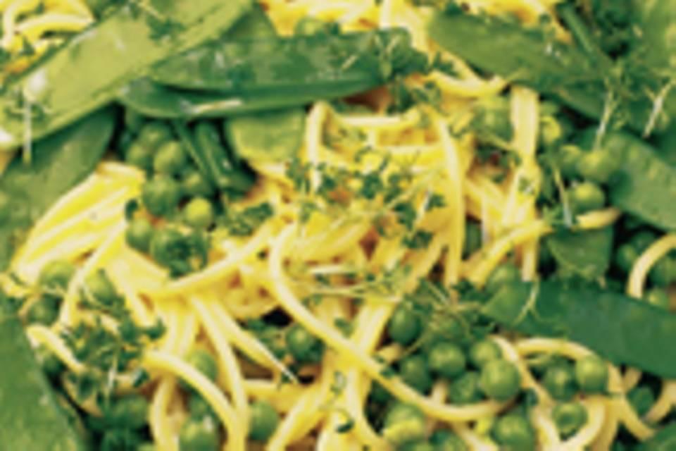 Spaghettini-Salat