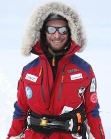 "Sebastian Copeland (45) sitzt im Aufsichtsrat der Umweltschutzorganisation ""Green Cross International""."