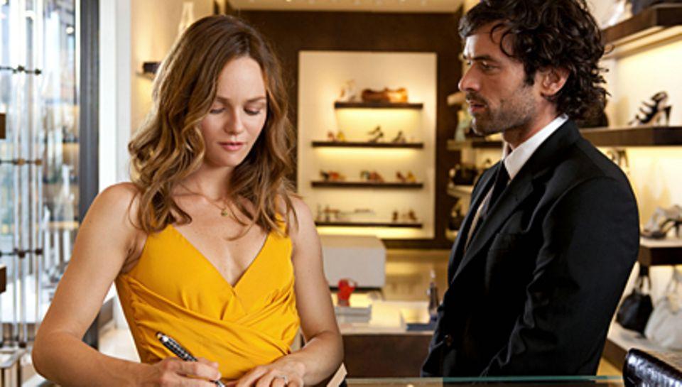 """Vanessa Paradis spielt an der Seite ihrer Film-Liebe Romain Duris in """"Der Auftragslover"""" (Start am 6. Januar)."""
