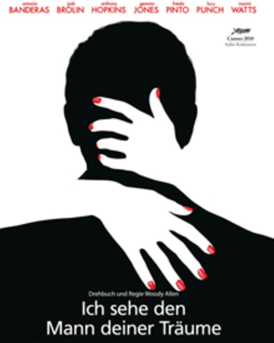 """Das Filmplakat zu """"Ich sehe den Mann deiner Träume"""": Der Titel ist ein ironischer Seitenhieb auf die Wahrsagerei."""