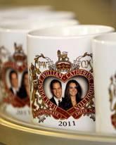 Tassen zur Hochzeit von William + Kate