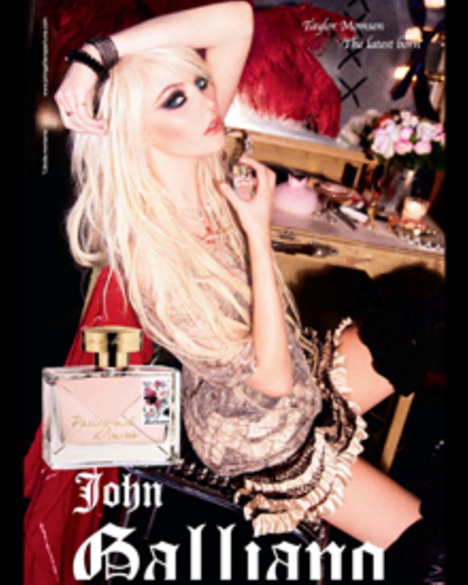 Taylor Momsen ist das Gesicht der neuen John Galliano Duft-Kampagne