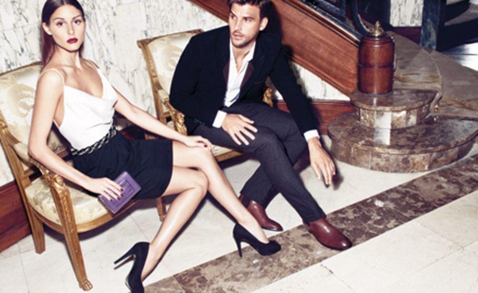 Olivia Palermo mit ihrem deutschen Modelfreund Johannes Huebl.