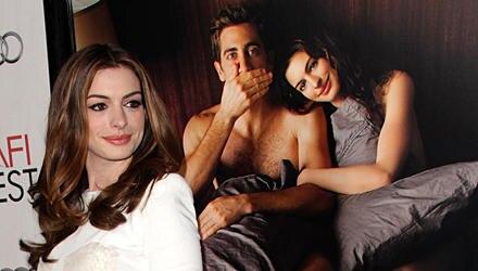 Anne Hathaway machte ihre ständige Nacktheit zu schaffen.