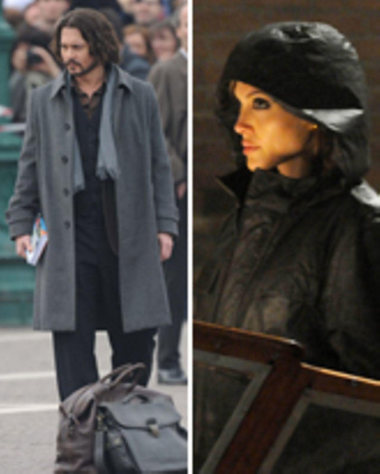 Angelina + Johnny