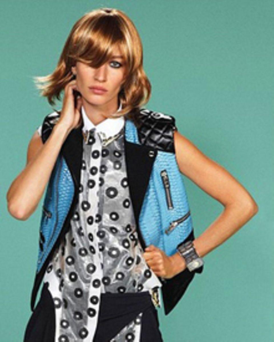 Gisele Bündchen als androgyner Punk für Balenciaga.