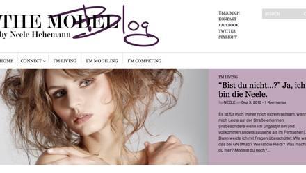 So sieht der Blog von Neele Hehemann aus.