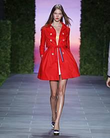 Seine Hauptkollektion zeigt Tommy Hilfiger während der New Yorker Fashion Week. Die aktuellen Looks für Frühjahr/Sommer überzeug