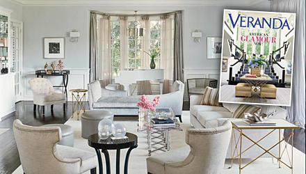 """Dem US-Wohnmagazin """"Veranda"""" (www.veranda.com) zeigte Jennifer Lopez ihr rundum erneuertes Heim: Im Wohnzimmer gibt es Möbel im"""