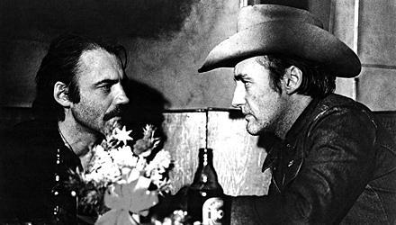"""Die Dreharbeiten zu """"Der amerikanische Freund"""" mit Dennis Hopper 1976 in Hamburg waren eine wilde Zeit."""