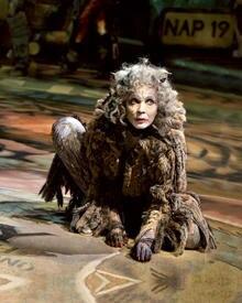 Glamourkatze Grizabella gehört zu den bekanntesten Miezen aus dem Musical.