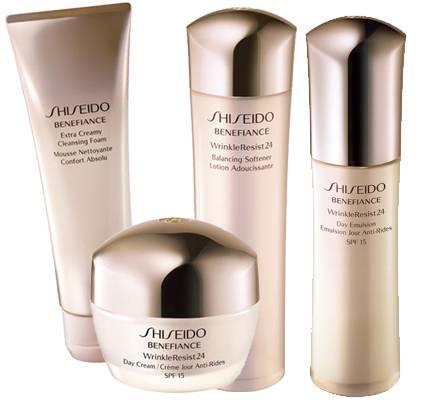 """Die Linie """"Benefiance WrinkleResist24"""" von Shiseido geht auf Bedürfnisse reiferer Haut ein"""