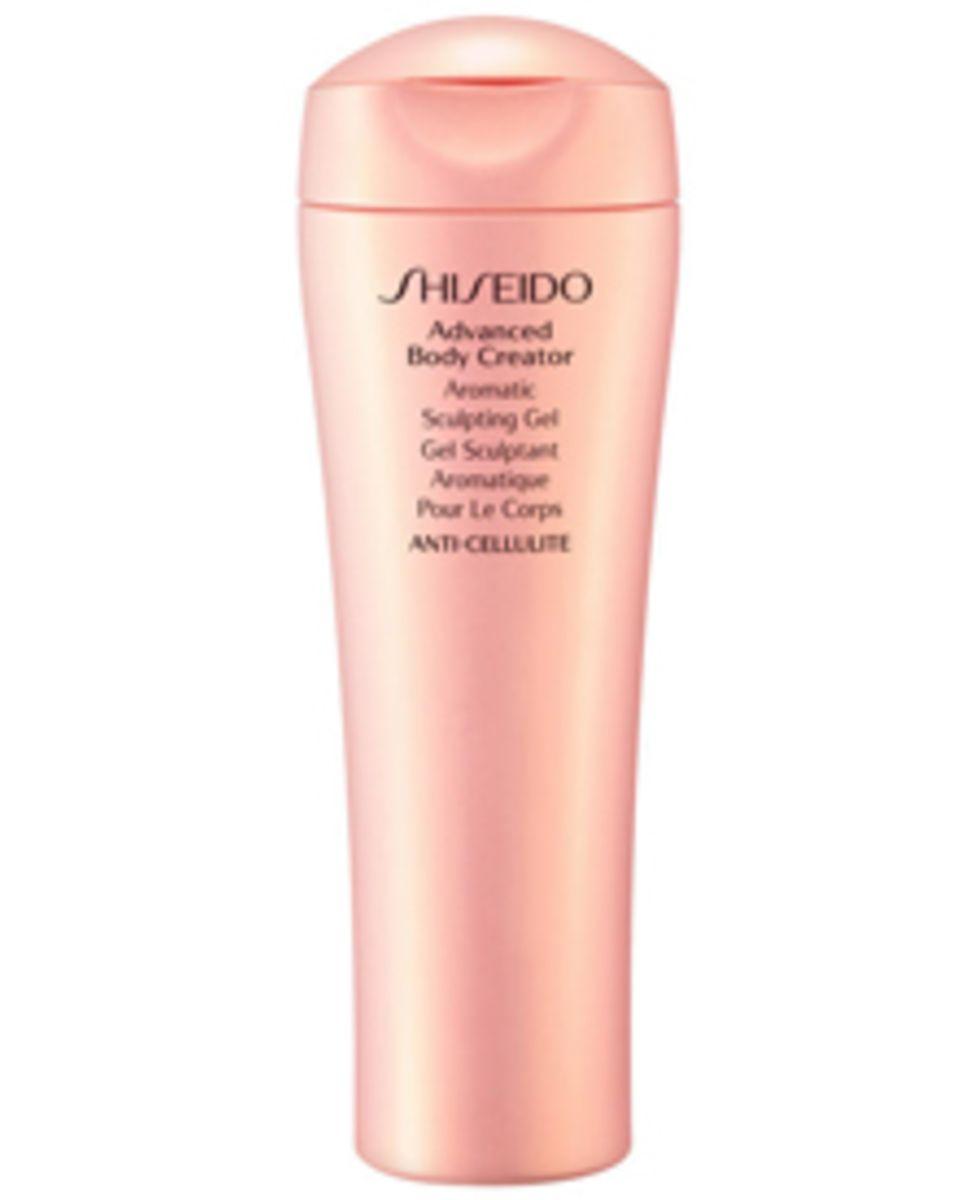 "Shiseidos ""Advanced Body Creator Aromatic Sculpting Gel"" ab März, 200 ml, ca. 50 Euro"