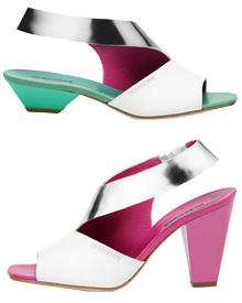 Perfekt für heiße Sommertage: Sandalette aus Leder