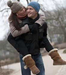 Frisch verliebt: Alexander Klaws und seine neue Freundin Nadja Scheiwiller.