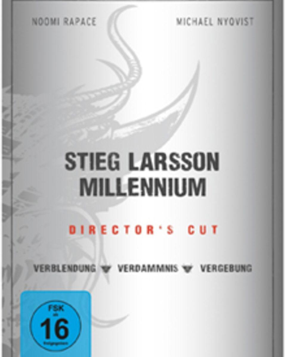 """Die """"Millenium""""-Trilogie im Director's Cut ist seit 11. Februar im Handel erhältlich."""