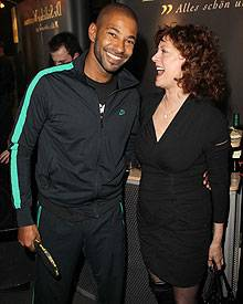 Tyron Ricketts und Susan Sarandon lieben  Ping Pong.