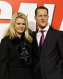 """""""Wir lieben uns immer noch"""": Seit fast 16 Jahren sind Michael und Corinna Schumacher verheiratet. Sie haben zwei Kinder."""