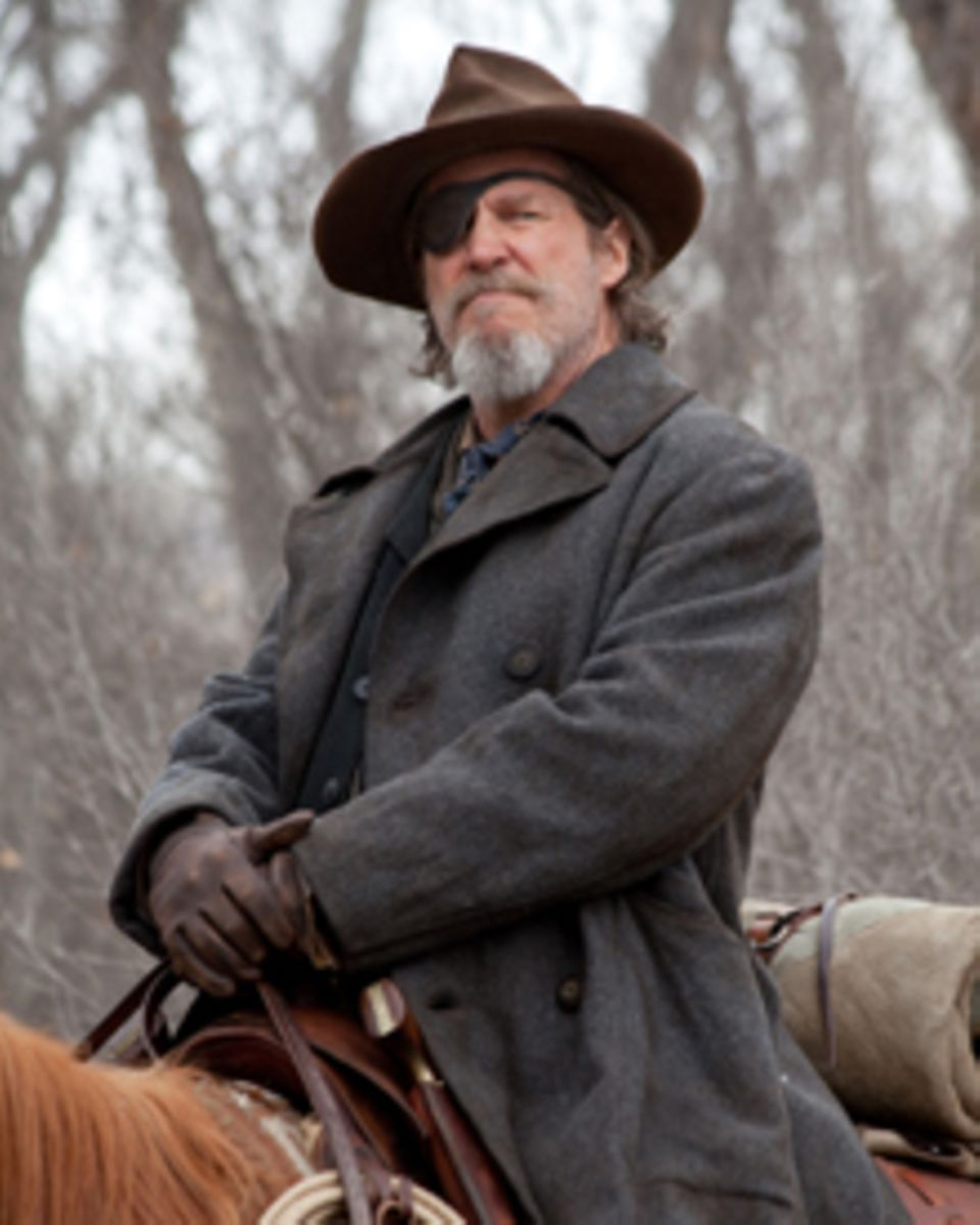 "Jeff Bridges gibt in ""True Grit"" den alternden Revolverhelden."