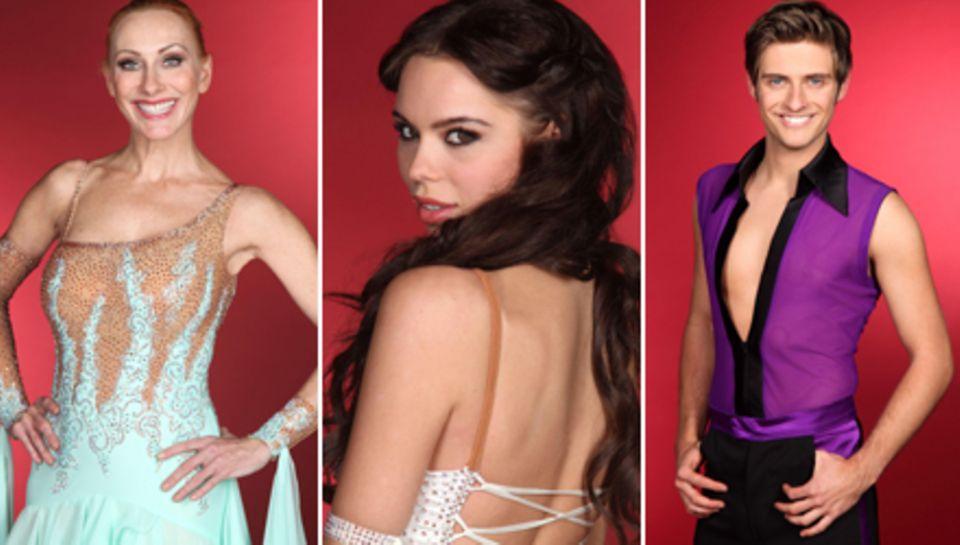 """Andrea Sawatzki, Liliana Matthäus und Jörn Schlönvoigt gehören zu den Teilnhemern der vierten Staffel von """"Let's Dance""""."""