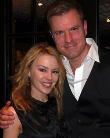 GALA-Redakteur Alexander Nebe traf Kylie Minogue in Helsinki.