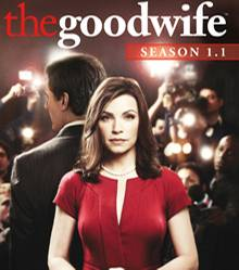"""Wir verlosen sechs DVD-Boxen der ersten Staffel """"The Good Wife"""" mit Julianna Margulies und Chris Noth."""