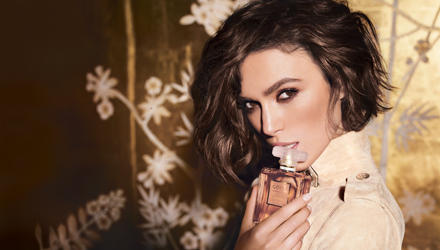 """Keira Knightley wirbt für """"Coco Mademoiselle"""", den neuen Duft von Chanel."""
