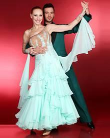 """Am 23. März werden Andrea Sawatzki und Stefano Terrazzino das erste Mal bei """"Let's Dance"""" auf RTL zu sehen sein. Zur Eröffnung s"""