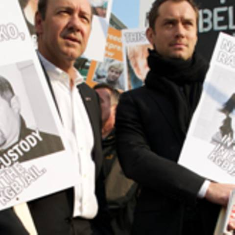 Jude LAw und Kevin Spacey Demo