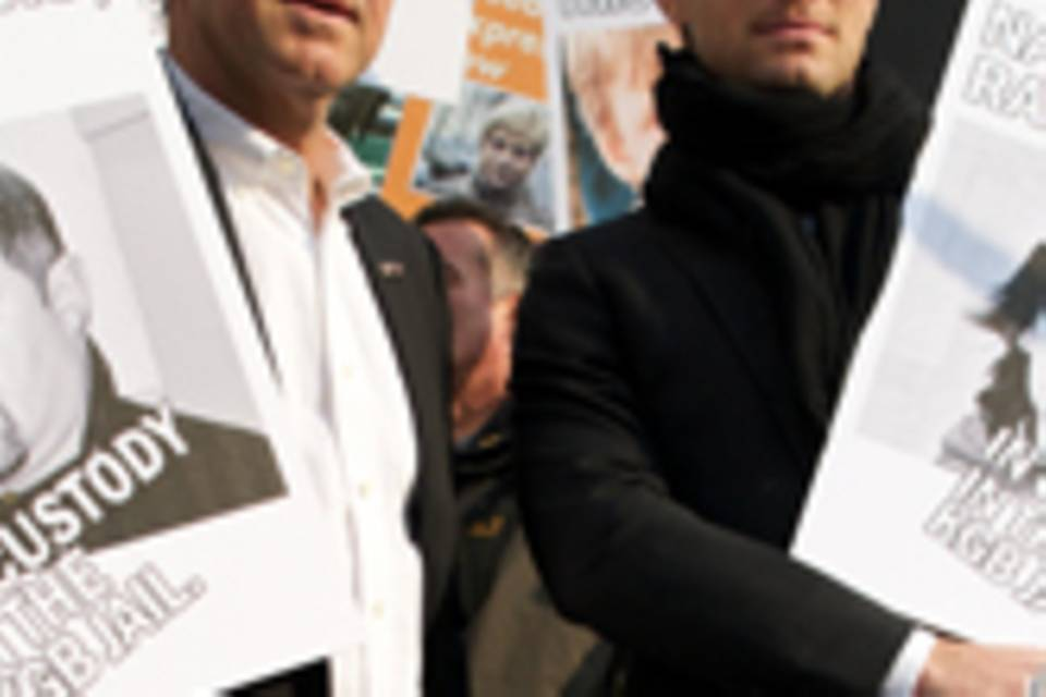 Jude LAw und Kevin Spacey Demo