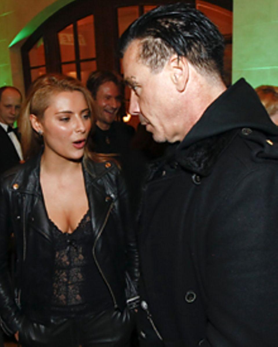 """Sophia Thomalla und Till Lindemann gemeinsam bei der """"Tele5 Director's Cut und Director's Night""""  im Rahmen der 61. Internationa"""