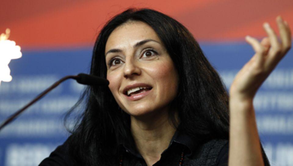 Regisseurin und Drehbuchautorin Yasemin Samdereli, 37