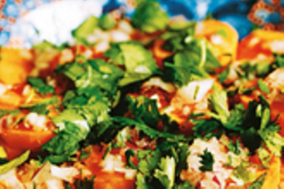 Orientalischer Süßkartoffel-Salat