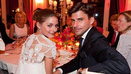 """Bei der diesjährigen GALA-""""Couple Of The Year""""-Verleihung wurde Olivia Palermo und Johannes Huebl der Titel """"International Coupl"""