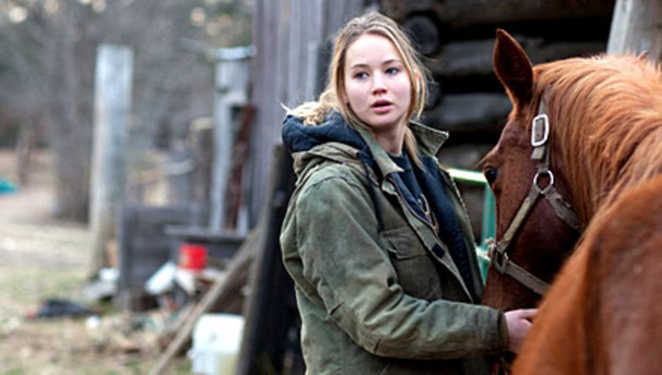 """Jetzt im Kino: Den Durchbruch feierte Jennifer Lawrence mit dem Drama """"Winter's Bone"""", für das sie eine Oscar-Nominierung erhiel"""